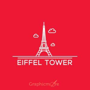 Eiffel Tower Paris Vector File