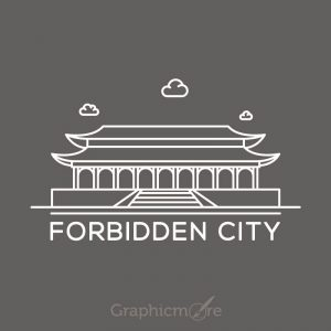Forbidden City China Free Vector File
