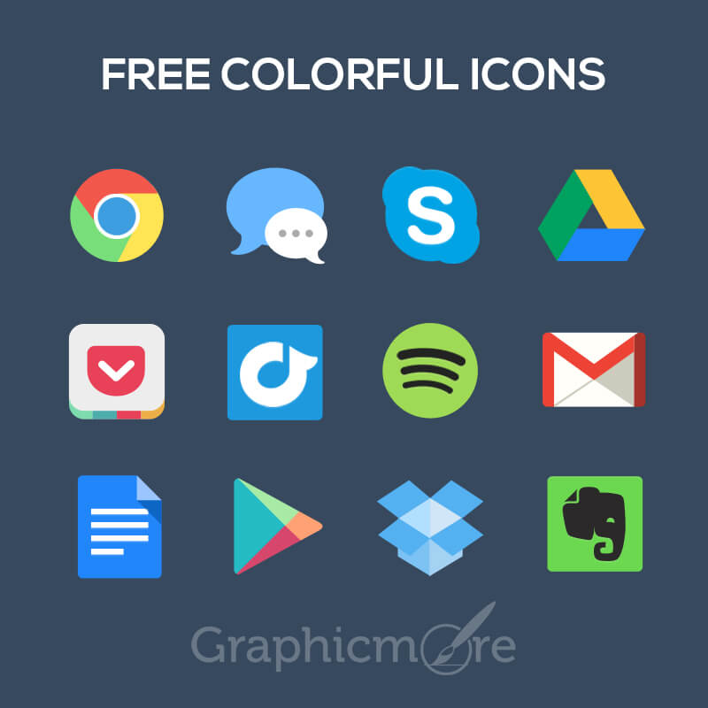 Free Colorful Icons Design