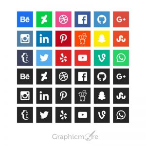 GraphicMore-Social-Media-Icons-Design-Free-Vector-File