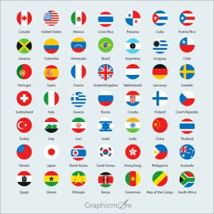 International Flags Icons