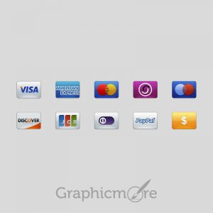 Payment Card Icons Design