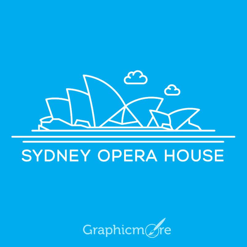 Sydney Opera House Free Vector