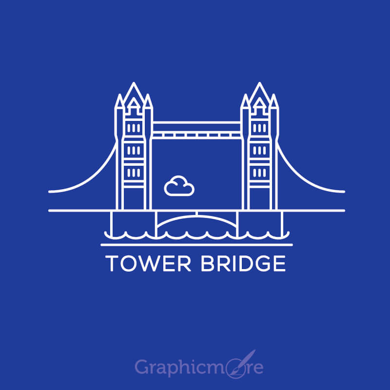 Tower Bridge London Vector File