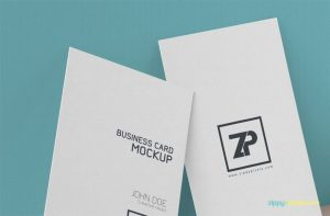 Free Creative Business Card Mockup PSD