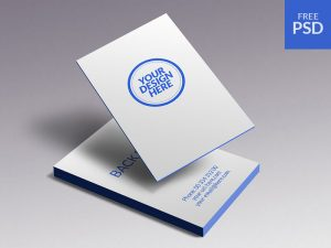 Business Cards Mockup Free PSD