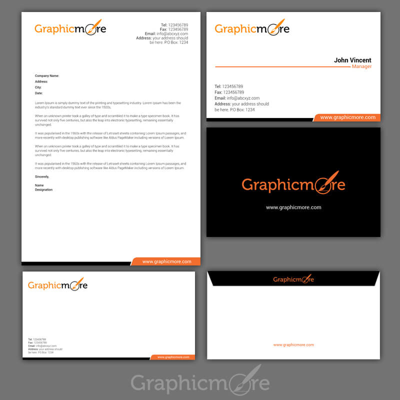 Clean Corporate Identity Design