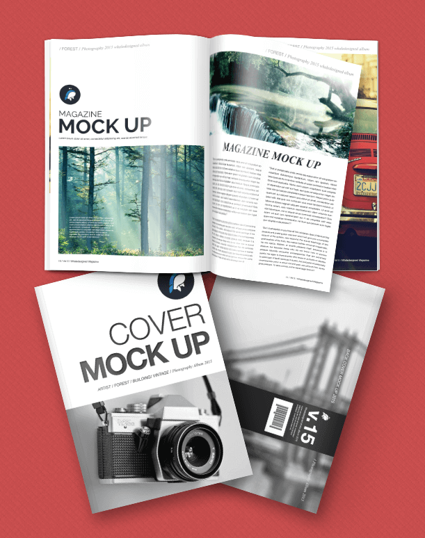 30+ Best Magazine Cover Page Designs PSD Templates