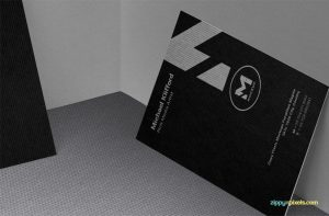 Free Outstanding Business Card Mockups PSD