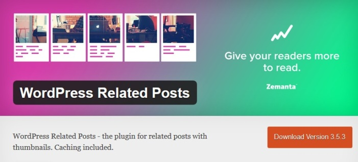 this free wordpress plugin enables you to quickly add related posts at the bottom of the posts you can increase the reader s engagement by up to 10
