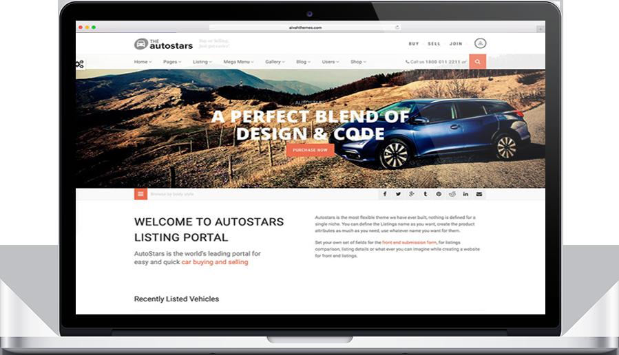 AutoStars theme