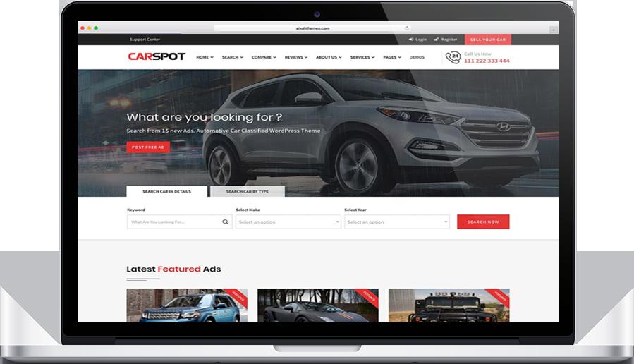 CarSpot theme