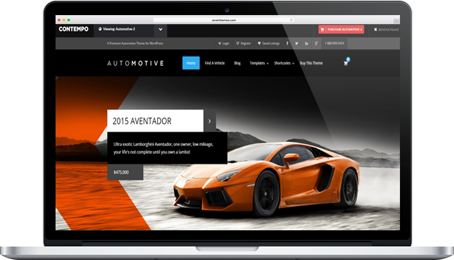 WP Automotive Pro 2 theme