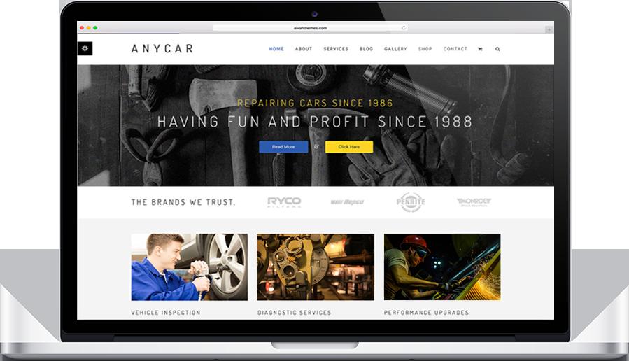anycar theme