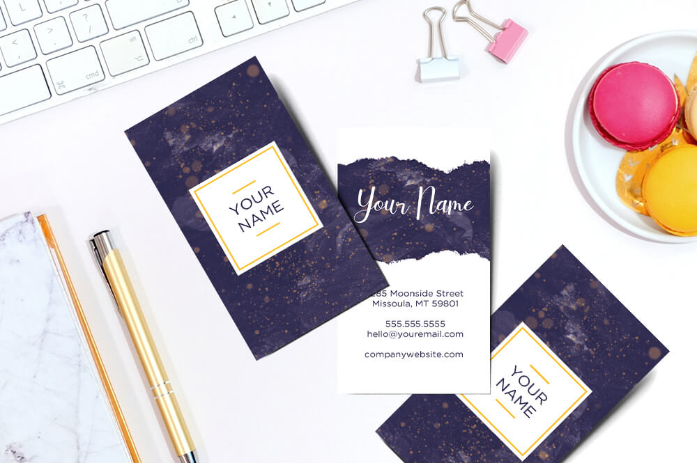 photoshop business card