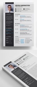 Free Professional Resume + Coverletter Template