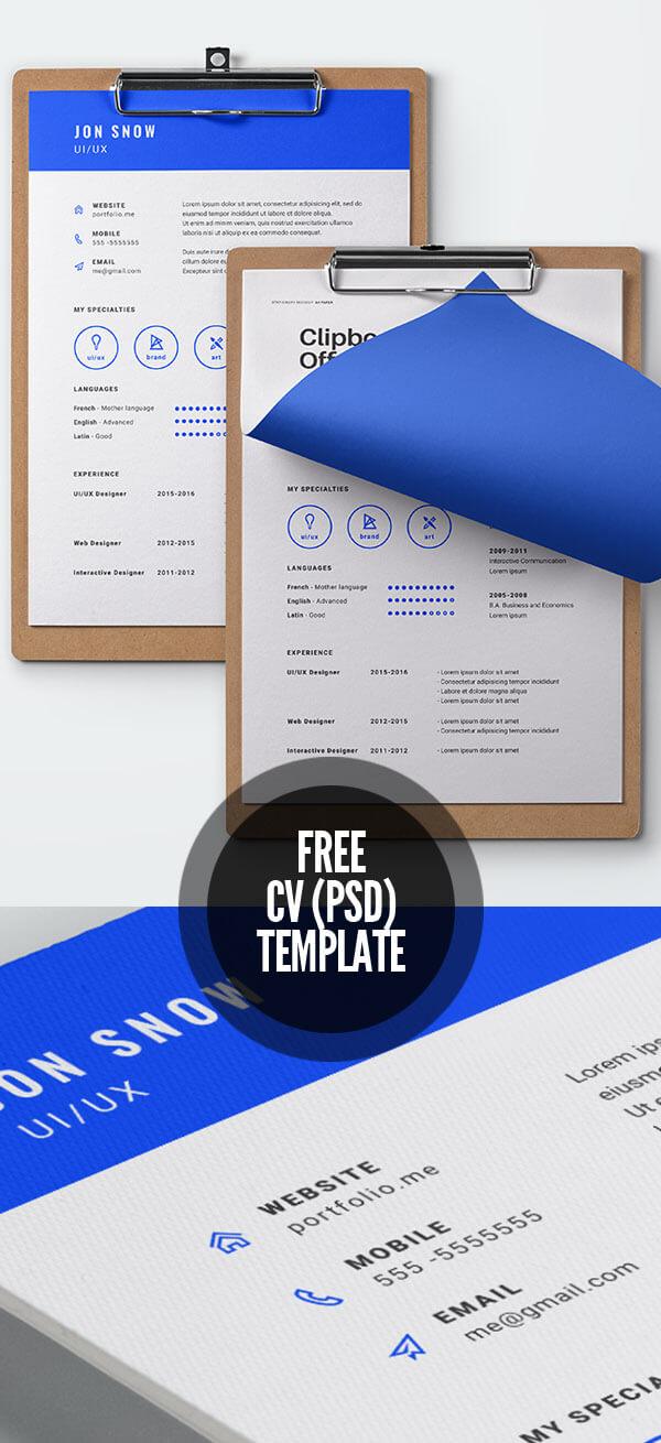 Free CV Template