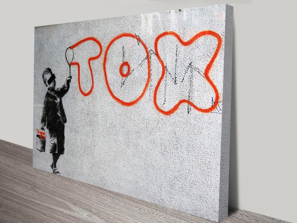 Banksy Art – Tox