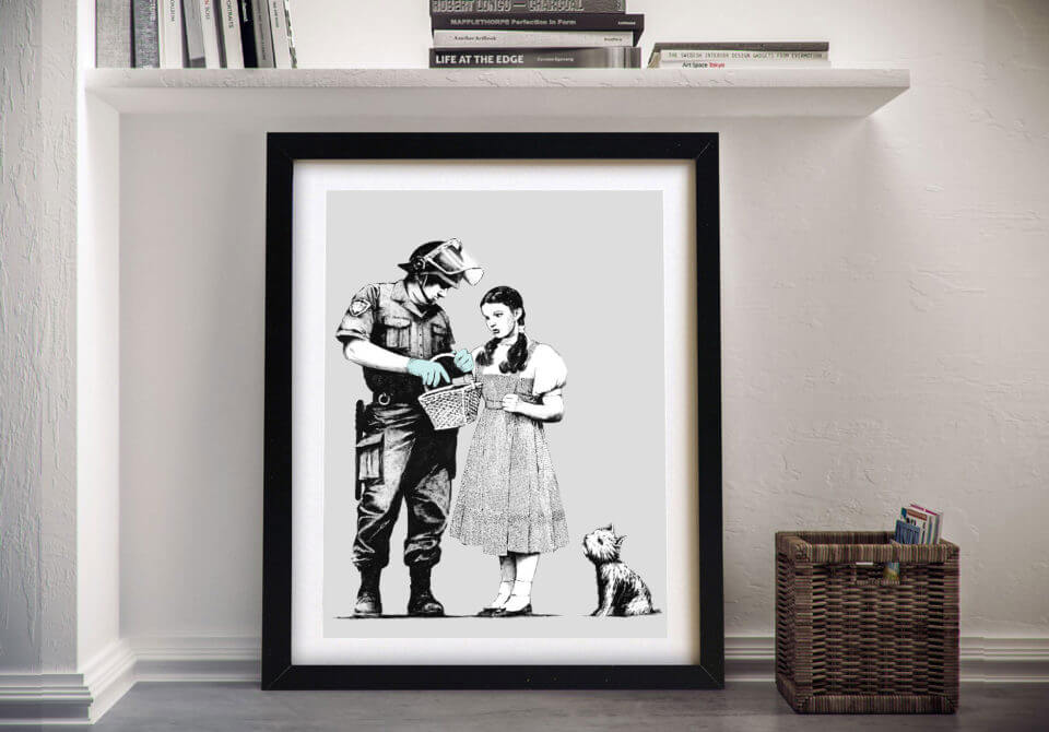 Dorothy Searched Banksy art