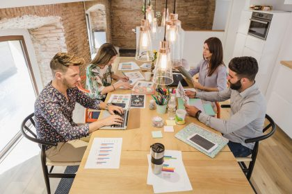 The growth of coworking spaces in remote freelance economy